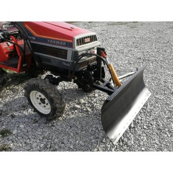 Hydraulic snow plow