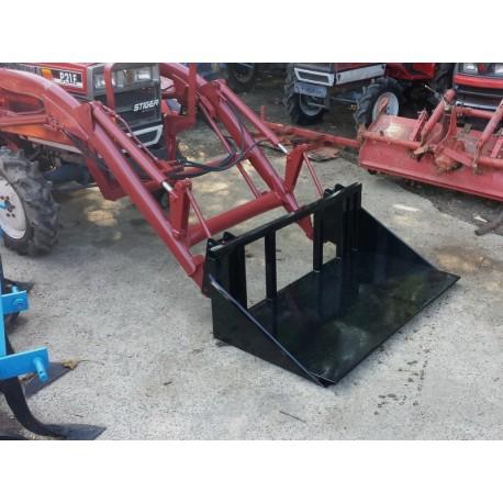 Front loader platform