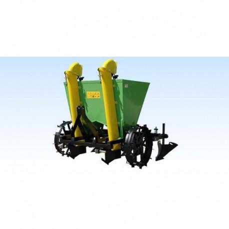 Potato sower two-line without fertilizing