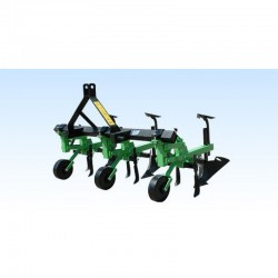 Cultivator trench