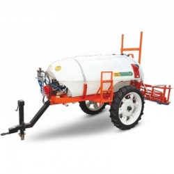Rod sprayer trailed